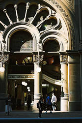 QVB Side Entrance 1 by mfunnell