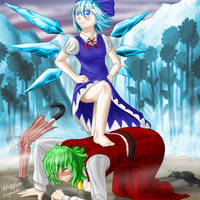 CIRNO IS THE STRONGEST. by chioi-tempest