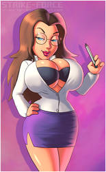 Dr. Amanda Rebecca II by Strike-Force