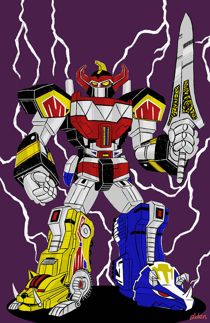 Dino Megazord by ald3n