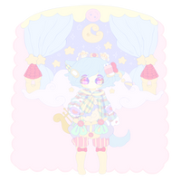 Pastel Adoptable (Closed) by RabbitRantan