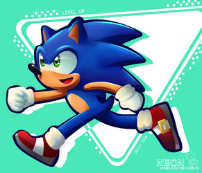 sonic forces: modern sonic by Neonunderground