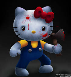Hello Kitty by Neonunderground