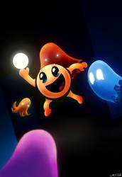 Pacman by Neonunderground