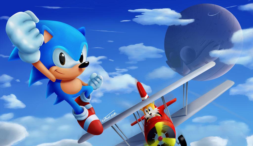 Sonic 2 Ending 2018 by Neonunderground