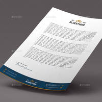 Bluestudio Letterhead by GreyFoxGR