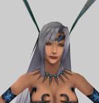 Yunalesca closeup - 3D model by Renmiri
