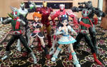 SH Figuarts Summer 2013 Duo Groupshot by ChristianPrime1-Bot