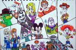 Disney Infinity - Brave In! KyoryuChange! WIP by ChristianPrime1-Bot