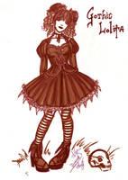 Gothic Lolita by omegasama
