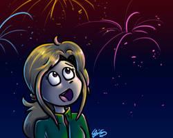 Fireworks by Rainpaw7