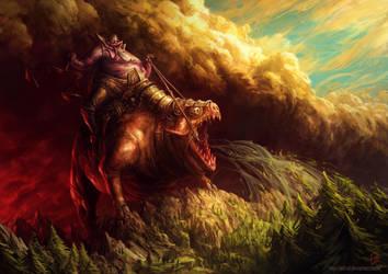 Four Horsemen: Famine by EdCid