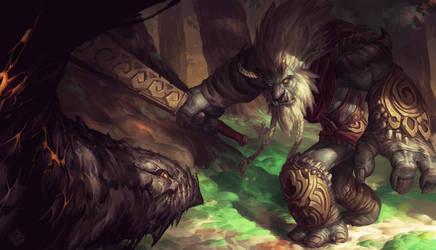 Trundle Dragon Slayer by EdCid