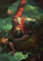 Jigo (Mononoke) by EdCid