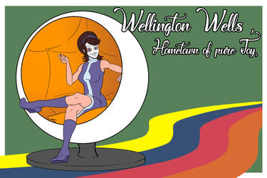 Wellington Wells, Hometown of pure Joy by Feldiarts