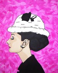 Audrey Hepburn by nicolestefaniedesign