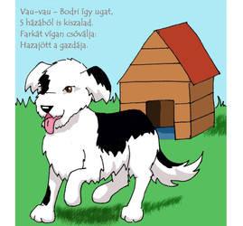 Dog - Children's Book by DezWagner