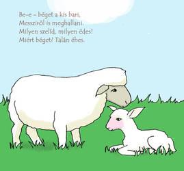 Lamb - Children's Book by DezWagner