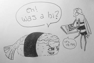 Was a bi? Inktober by the-PirateNinja
