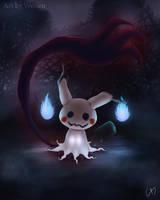 Mimikyu Pokemon by Maucen