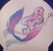 Cherry Mermaid by Rina-Senpai