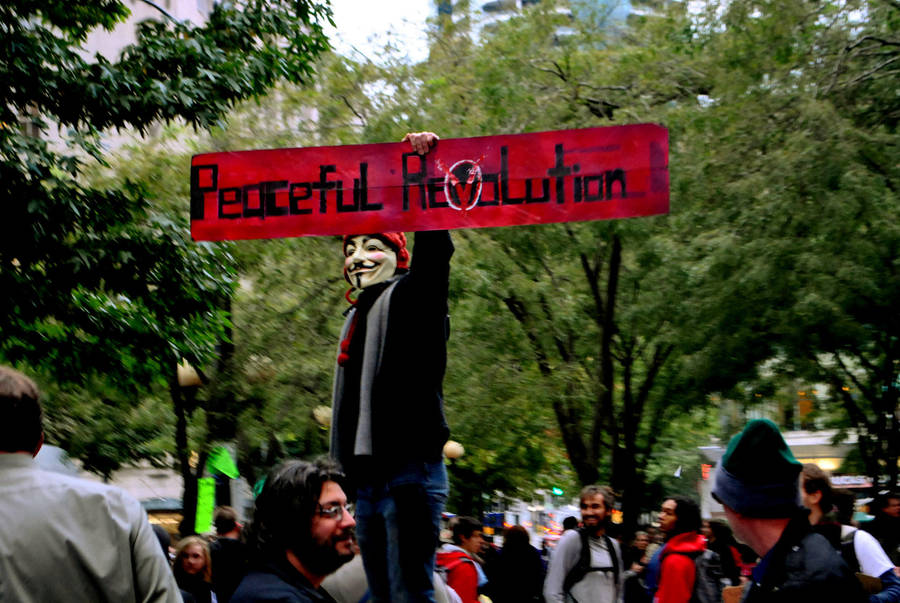 Peaceful Revolution by blairexfabulous