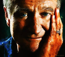 Robin Williams     RIP by paulnery