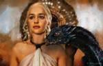Emilia Clarke as Daenerys Targaryen by paulnery