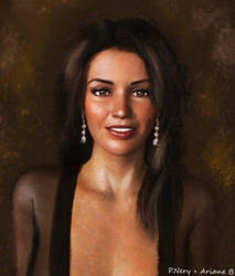 Portrait of Ariane by paulnery