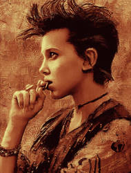 Stranger Things 2: Punk Eleven by paulnery
