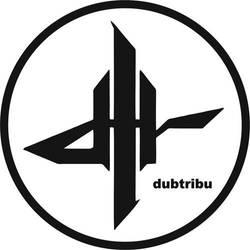 Dubtribu Logo in White by Dubtribu