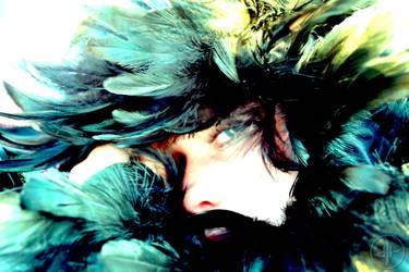 Feather Goddess by Dubtribu
