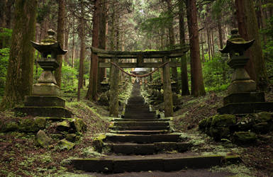 Kamishikimi Kumano Shrine, Takamori by Rollwurst