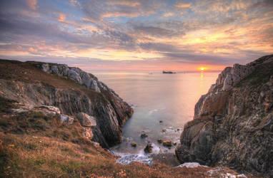 Breton seaview by Rollwurst