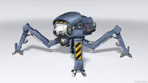 Mech Robot by Rofelrolf