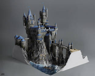 Castle Concept by Rofelrolf