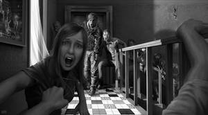 zombie floor artwork by Rofelrolf
