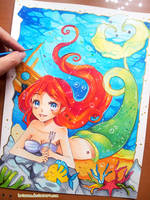 +The Little Mermaid - Part of Your World+ by larienne