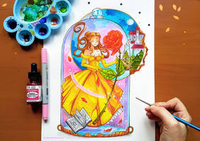 +Belle - Tale as Old as Time+ by larienne