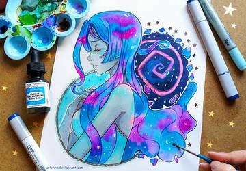 +Black Hole+ by larienne