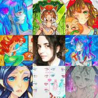 +Art vs Artist+ by larienne