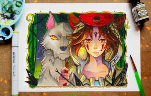 +Mononoke - On the Prowl+ by larienne