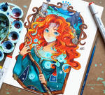 +Merida - Noble Maiden Fair+ by larienne