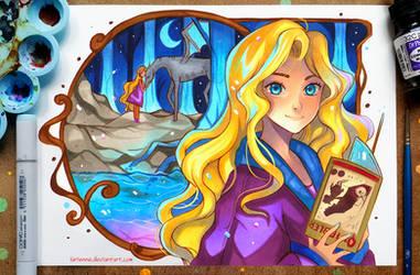+Luna Lovegood+ by larienne