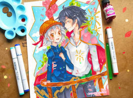 +Sophie and Howl+ by larienne