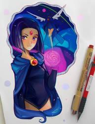 +Teen Titans - Raven+ by larienne