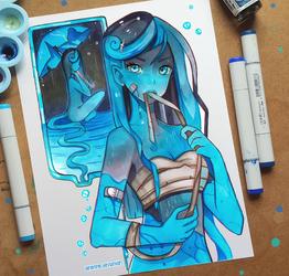 +Leaks+ by larienne