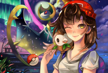 +Alola to the Moon+ by larienne