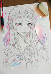 +Zelda+ by larienne
