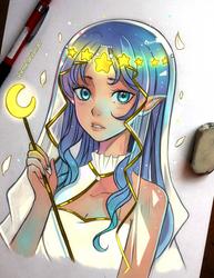 Moon's Bride by larienne